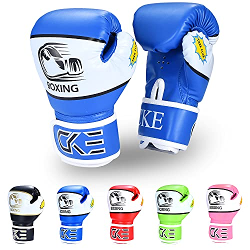 CKE Kids Boxing Gloves for Kids Boys Girls Junior Youth Toddlers Age 5-12 Years Training Boxing...