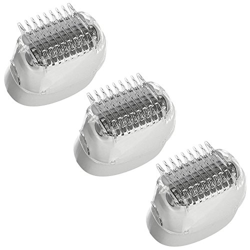 Spares2go Braun - Depiladora para afeitadora (3 Unidades)