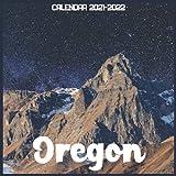 Oregon Calendar 2021-2022: April 2021 Through December 2022 Square Photo Book Monthly Planner Oregon small calendar