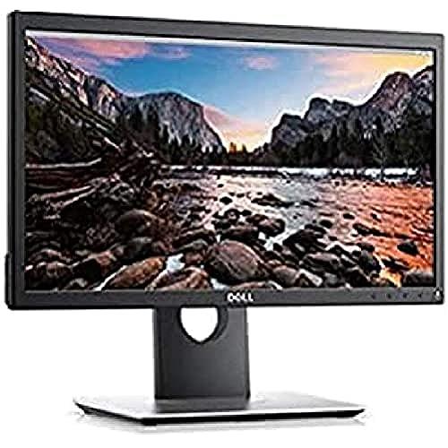 """Dell P2018H - Écran LED - 20"""" (19.5"""" visualisable) - 1600 x 900 - TN - 250 CD/m² - 1000:1-5 ms - HDMI, VGA, DisplayPort - avec 3 Ans de Advanced Exchange Service et Premium Panel Guarantee - pour L"""