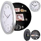 LQ-wall clock Relojes de Pared Secreto Oculto Reloj de Pared Grande Caja de Dinero Caja Fuerte Joyas Material de Almacenamiento Cofre Piggy Bank