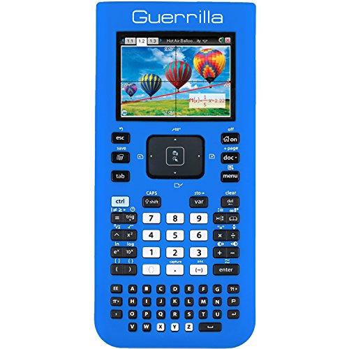 Guerrilla Silicone Case for Texas Instruments TI Nspire CX/CX CAS Graphing Calculator, Blue Photo #4