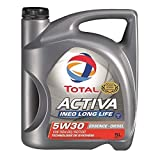 TOTAL - TOTAL Huile Moteur Activa Ineo Long Life 5W30 Mixte 5 Litres