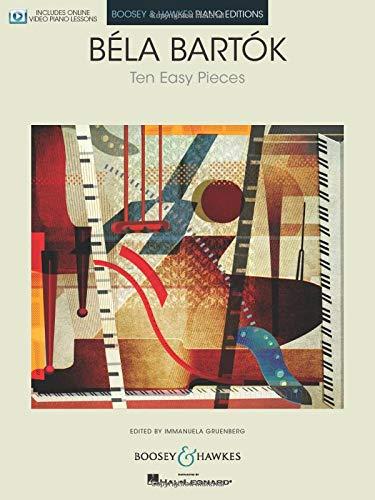 Ten Easy Pieces: Klavier. Ausgabe mit Online-Video.: 10 Easy Pieces for Piano (Boosey & Hawkes Piano Editions)