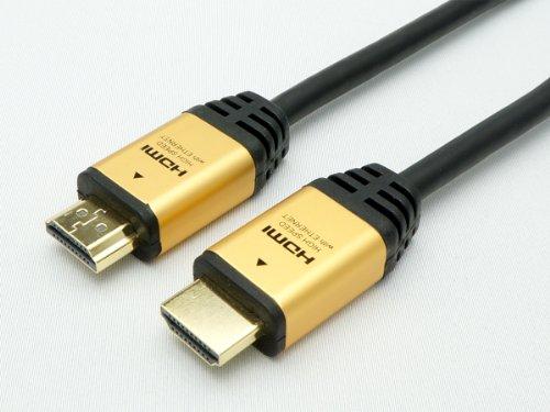 HORIC HDMIケーブル 2m ゴールド HDA20-510GD
