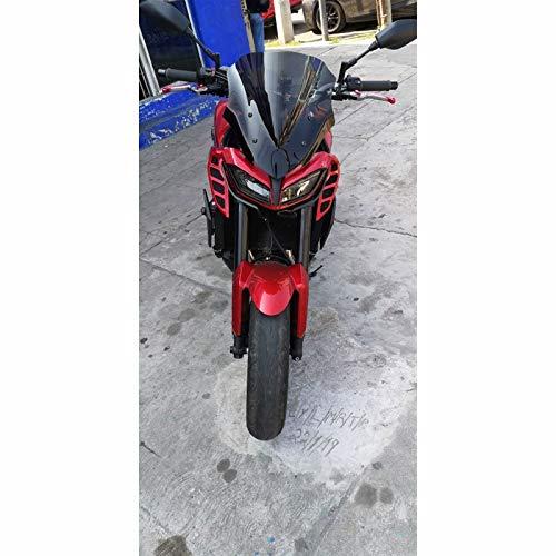 Fit For Yamaha MT09 FZ09 MT-09 FZ-09 FZ MT 09 2017 2018 2019 Motorycle Windshield Racing Windscreen Deflector De Viento Visor Pare-Brise Parabrisas de Motocicleta (Color : Smoke)