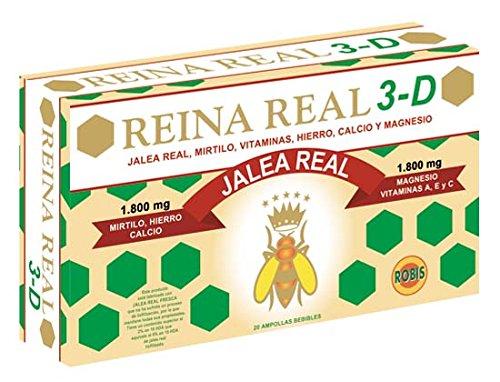 Robis Reina Real 3D Jalea - 20 Unidades