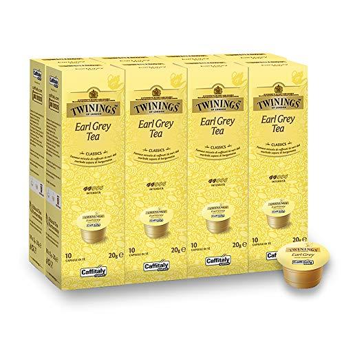 Twinings Earl Grey Teekapseln für Tchibo® Cafissimo® Caffitaly® K-Fee® Teekanne® 80 Kapseln