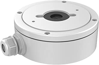 Hikvision Back Box Wall Mount Bracket for The DS-2CD25xx Series IP Dome Camera - White
