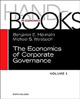 The Handbook of the Economics of Corporate Governance (Volume 1) (Handbooks in Economics)