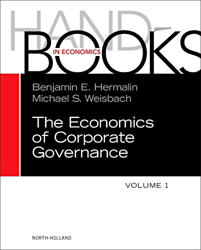 Compare Textbook Prices for The Handbook of the Economics of Corporate Governance Volume 1 Handbooks in Economics 1 Edition ISBN 9780444635303 by Hermalin, Benjamin,Weisbach, Michael