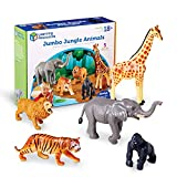 Learning Resources Jumbo Jungle Animals I Lion, Tiger,...