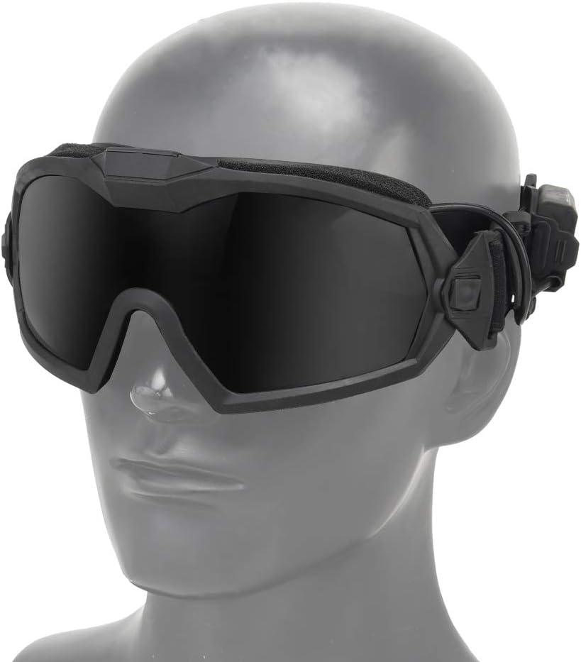 FOJMAI Lunettes de Protection Tactiques Anti-bu/ée pour Paintball et Airsoft