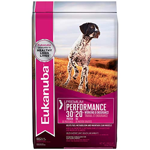 Eukanuba Premium Performance 30/20 Adult Dry Dog Food, 29 lb. bag