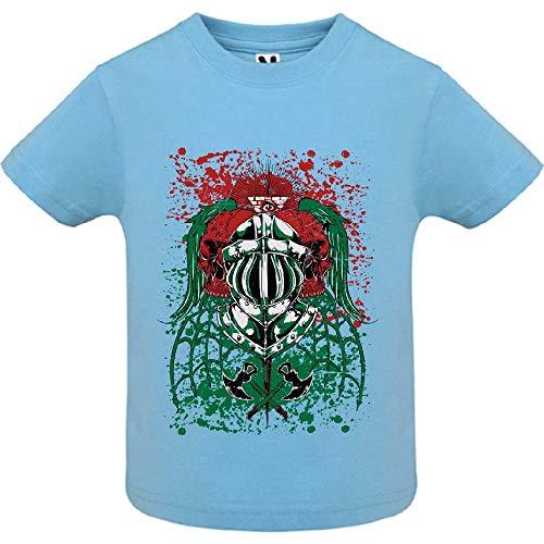 LookMyKase T-Shirt - Endless War - Bébé Garçon - Bleu - 12mois