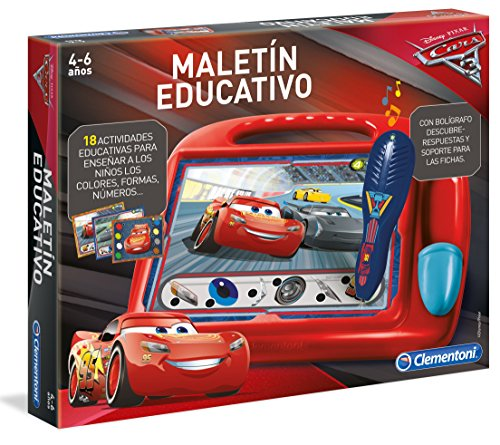 Clementoni - Maletin Educativo Cars 3 (55170.5)