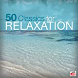 "2 CD music set ""50 Classics for Relaxation"", techniques to help you relax and sleep, buy at discounted low price"