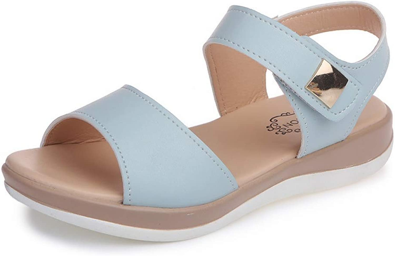 Btrada Women Platform Sandals Fashion Flats Ladies Casual shoes Comfortable Female Peep Toe Footwear