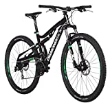 Diamondback Bicycles Recoil 29er Complete READY RIDE Full Suspension Mountain Bike, 20'/Large Black