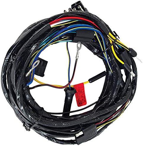 amazon.com: 1966 mustang headlight wiring harness from firewall - all :  automotive  amazon.com