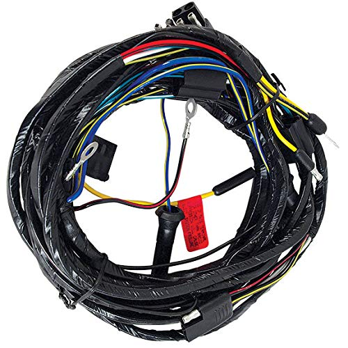 1966 Mustang Headlight Wiring Harness From Firewall - All