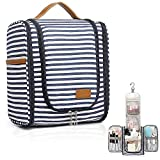 Hanging Travel Toiletry Bag for Women,Travel Wash Bag Large Makeup Organizer with 19