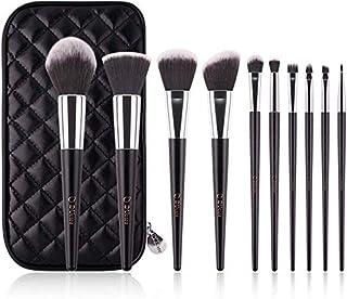 Professional Makeup Brush 10 Pieces A Full Set of Makeup Tools Brush Foundation Brush Blush Brush Eye Shadow Brush D-349 w...