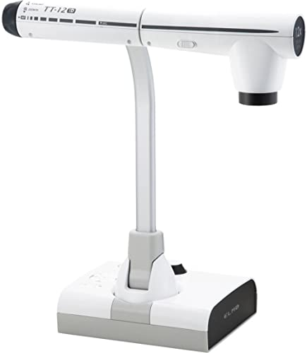 Elmo 1349 Model TT-12ID Interactive Document Camera, 96X Total Optical + Digital Zoom and 3.4MP CMOS Image Sensor, HD...