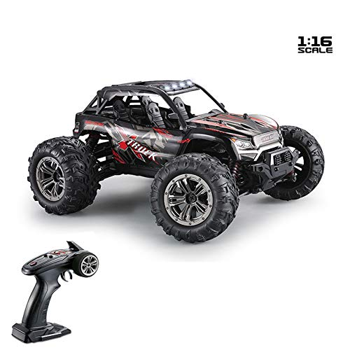 ACHICOO Xinlehong 9137 1/16 2.4G 4WD 36km/h RC Car W/LED Light Desert Off-Road High Class Truck RTR Toy red