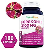 Best Forskolin Supplements - Pure Forskolin 2100mg Per Veggie Caps - 180 Review