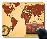 Magic Map Gaing Mouse Pad, Karte der Weltkarte Mouse Mat YT 038