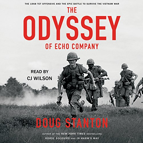 The Odyssey of Echo Company audiobook cover art