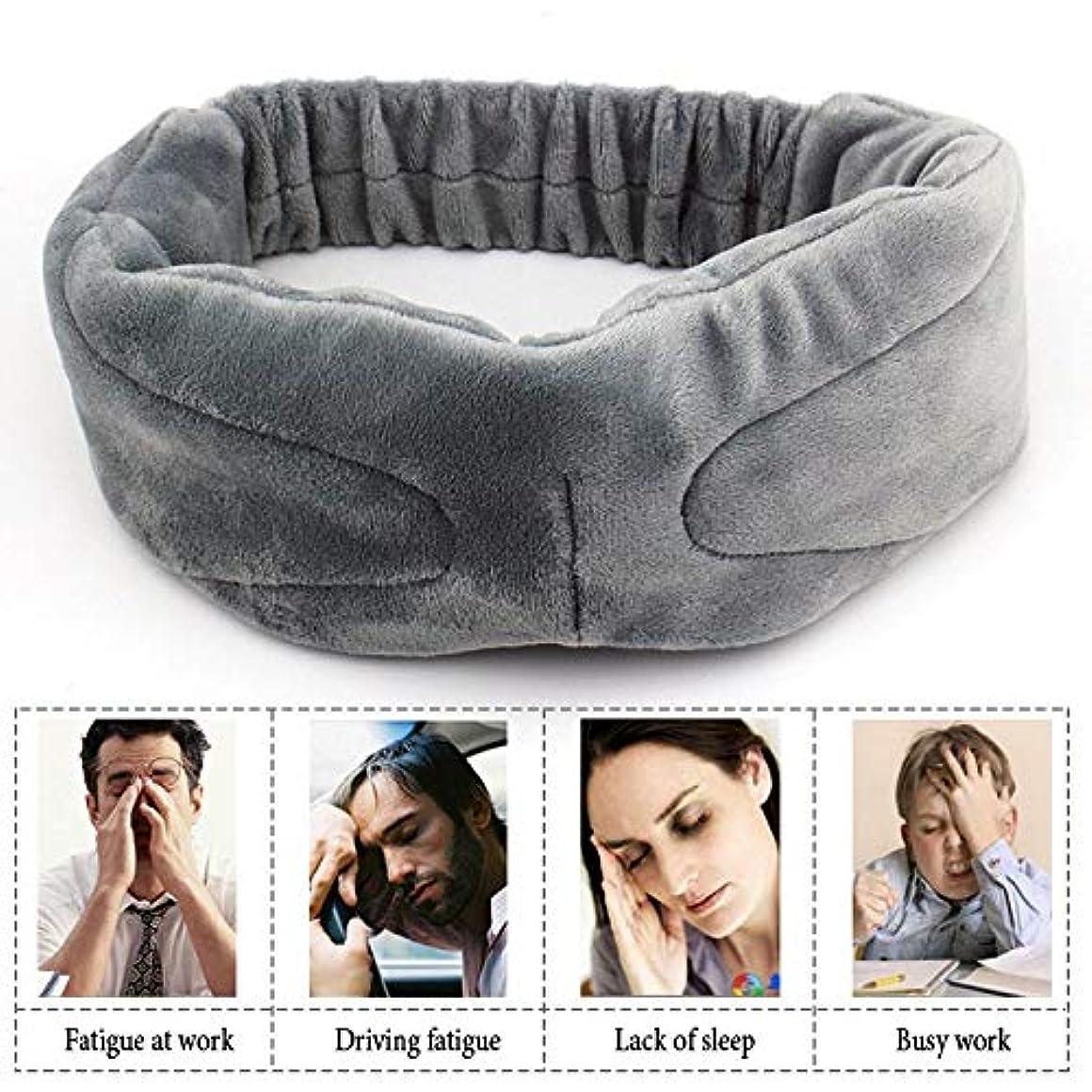 注超ソフト音楽睡眠アイマスク屋外旅行睡眠補助目隠しカバーライトスポンジアイシェードナイト睡眠アイパッチ包帯