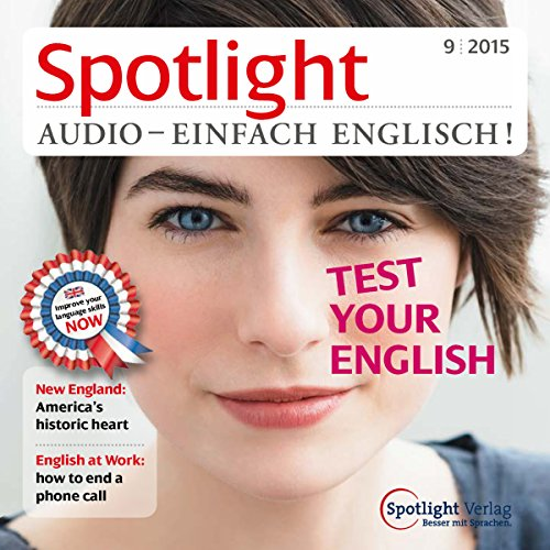 Spotlight Audio - Test your English. 9/2015 cover art