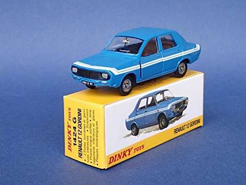Générique Atlas Dinky Toys - Renault 12 GORDINI R12 - NOREV Collectible Car - 1424G
