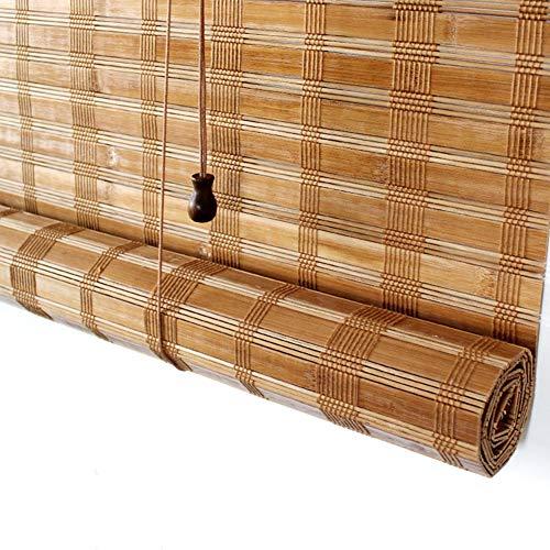 Bambusrollo Terrasse Front Porch Pergola Cabana Gazebo Außen Roller Shade/Außenjalousien, 85cm / 105cm / 125cm / 145cm Breit (Size : 105×220cm)