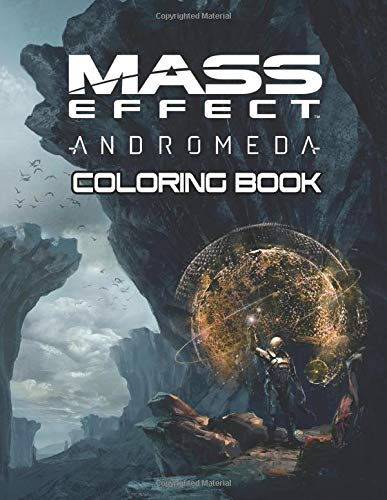 Mass Effect Coloring Book