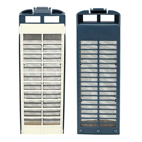Filtro de reemplazo compatible, efectos de filtración 23.3 x 8cm Filtro de polvo de calidad Refrigerador Filtro de agua de plástico