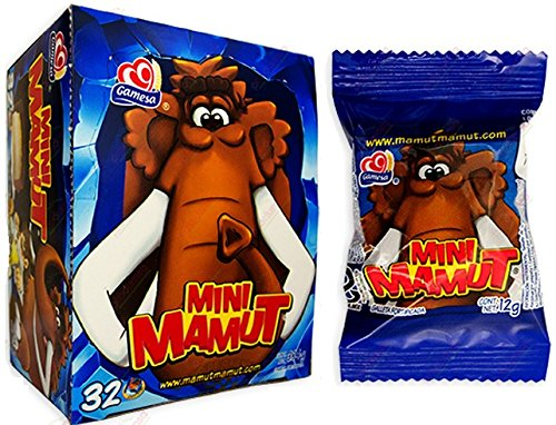 Gamesa Mini Mamut Marshmallow & Cookie Chocolate Covered Mexican Sweet Candy 32 Pcs