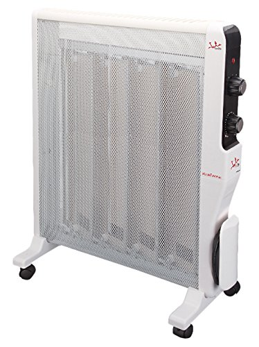 Jata RD222 Panel Micathermic con 4 placas, 2000 W, Blanco