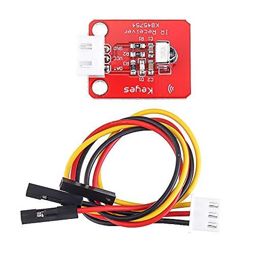 MING-MCZ Duradero Junta Módulo 1838T Infrarrojos Sensor Receptor del Sensor del Controlador Remoto IR con el Cable for 5pcs Fácil de Montar