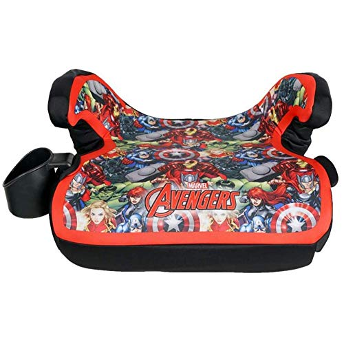Best Review Of KidsEmbrace Backless Booster Car Seat, Marvel Avengers