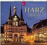 Harz - Zwischen Fachwerk und wilder Natur: Original Stürtz-Kalender 2021 - Mittelformat-Kalender 33 x 31 cm