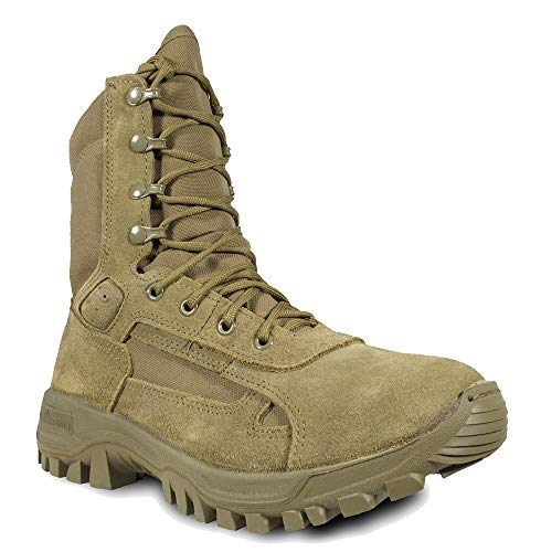 MCRAE T1 Hot Weather Performance Combat Boot, Coyote Brown, 11 Wide