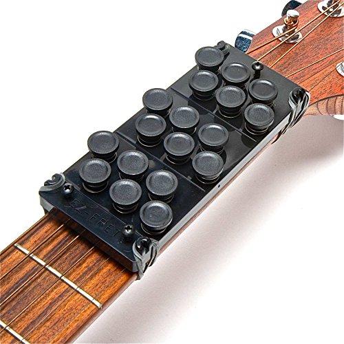 Ez-Fret Guitar Attachment, Eliminates Finger Pain And String Buzzing