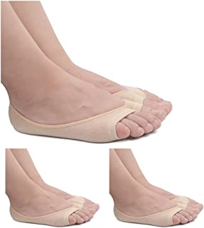 Ladies/Womens Summer Peep Toe Socks Toeless No Show Socks Hidden Socks