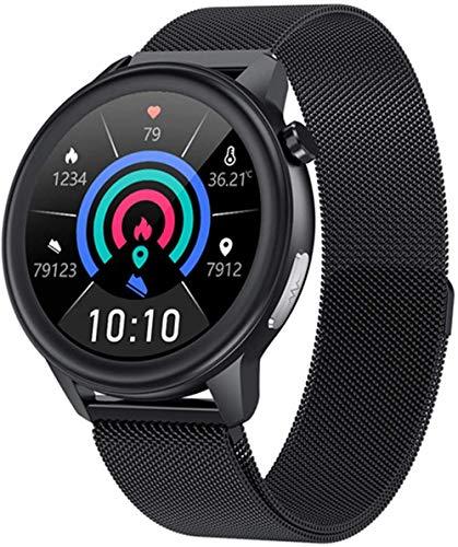 Reloj inteligente Fitness Tracker con pantalla táctil completa de 1.3 pulgadas, reloj inteligente de actividad con cronómetro IP68 impermeable