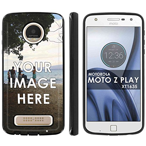 Slim Anti-Shock Designer Phone Case Compatible with Motorola Verizon Moto [Z Play] Droid XT1635 Custom Tool Make Your Own Personal Phone Case