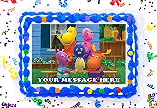 "The Backyardigans Cake Topper Edible Image Personalized Cupcakes Frosting Sugar Sheet (2"" Cupcakes (12))"