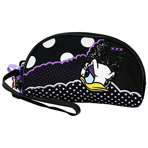 Disney Daisy Duck Caso Make Up Bag Bolsos Neceser Vanity Pochette